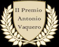 Logo del segundo premio Antonio Vaquero